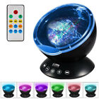 Remote Control Ocean Wave Projector Night Light Lamp with Built-in Music Player