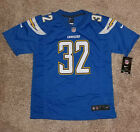 Eric Weddle Los Angeles Chargers Nike Powder Blue Game Jersey Youth Medium/Large $32.99 USD on eBay