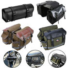 Motorcycle Saddlebags Panniers Fork Tool Bag for Sportster Dyna Softail Scooter $43.99 USD on eBay