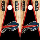 Buffalo Bills Cornhole Skin Wrap NFL Wood Decal Vinyl Board Logo Art DR608 $59.99 USD on eBay