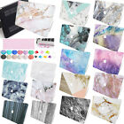 """Classic Marble Rubberized Hard Case Key Ports Cover For Old New Macbook PRO 13"""""""