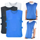 12 pcs Outdoor Sports Soccer Training Vests Football Breathable Adults Jersey SP