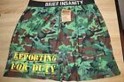 NEW Men's Brief Insanity Novelty Boxers Premium Quality - different styles