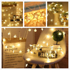 LED Wall Curtain Window Fairy String Lights Warm White Christmas Wedding Party