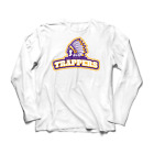 Los Angeles Trappers Long Sleeve White Graphic T-Shirt Sm- Big and Tall Lakers on eBay