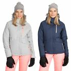 DLX Womens Ski Jacket Waterproof Ladies Snow Coat with Faux Fur RECCO