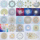 5D DIY Special Shaped Diamond Painting Flower Embroidery Wall Clock Home Decor