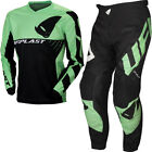UFO Division Motocross Race Kit Pants and Shirt Combo Black Green - All Sizes  for sale  Yeovil