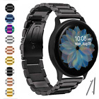 For Samsung Galaxy Watch Active 2 & Active 40mm 44mm Bands Bracelet Metal Strap image