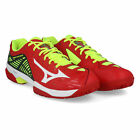 Mizuno Mens Wave Exceed 2 Clay Court Tennis Shoes Red Yellow Sports Breathable
