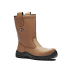 V12  RIGGER BOOTS V6 WORK SAFETY POLAR THERMAL LINED V6816 STEEL TOE CAP UK 6-13
