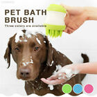 2 in 1 Dog Brush Automatic Pet Shampoo Remove Cuticle Durable Pet Bath Brush