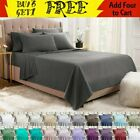 4 6 PIECE LUXURY 2100 COUNT HOTEL SERIES DEEP POCKET WRINKLE FREE BED SHEET SET image