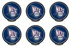 POWERDECAL PWR85001 Decal NBA (R) Series New Jersey Nets Logo 6 PACK on eBay