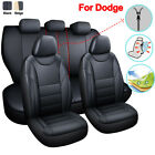 PU Leather Car Seat Cover 11PCS Accessories Fit for Dodge Charger Durango Dart $56.99 USD on eBay