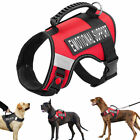 Emotional Dog No-Pull Harness Pet Puppy Outdoor Walking Vest Service in Training