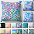 45x45cm Sofa Pillow Cover Throw Square  Scale Decorative Home Office