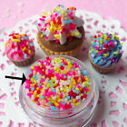 1 Bag DIY Polymer Clay Fake Candy Sweets Sugar Sprinkles Decor for Phone Shell image