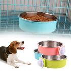 A158 Plastic Bowl Dog Feeder Hamsters Dogs Detachable Cage Bowl