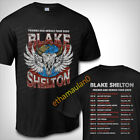 Blake Shelton Friends And Heroes Tour 2020 T shirt S to 3XL MEN'S  image