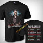 Blake Shelton Friends And Heroes Tour Dates 2020 T shirt S to 3XL MEN'S  image