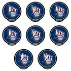 POWERDECAL PWR85001 Decal NBA (R) Series New Jersey Nets Logo 8 PACK on eBay