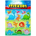 Dinosaur Dino Stickers 13 Stickers Reward Chart Crafts Party Bags Fillers