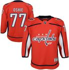 TJ Oshie 77 Washington Capitals NHL Youth Premier Home Jersey Red
