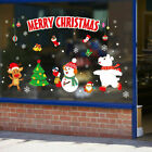 Christmas Window Decal Wall Sticker Adhesive Removable Home Door Xmas Decoration
