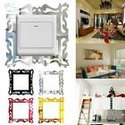 Acrylic Switch Stickers  Living Room Wall Decoration Diy Mirror Wall Stickers.