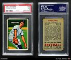 1951 Bowman #73 Tommy Byrne Yankees PSA 7 - NMBaseball Cards - 213