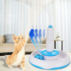 UK Pet Cat Feather Electric Toy Teaser Interactive Cats Toy Rotating 360° Safe