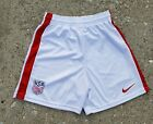 USA Nike SOCCER SHORTS, NEW TAG, WHITERED, GREAT FOR PLAYERS and fans