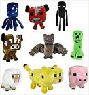 Minecraft-Plush-Toys-6-to-8-Inches-Long-FAST-USA-SHIPPING