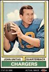 1974 Topps #150 Johnny Unitas Chargers Louisville 5 - EX $16.0 USD on eBay