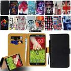 Flip Leather Card Wallet Stand Cover Phone Case For LG G6 G7 G8 Smartphones