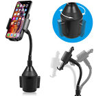 New Universal Adjustable Car Mount Gooseneck Cup Holder Cradle for Cell Phones