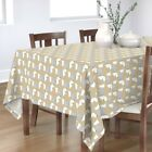 Tablecloth Dogs Novelty Animal Black Tie Party Pet Retro Dachshund Cotton Sateen