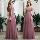 Kyпить Ever-Pretty Formal V-neck Long Bridesmaid Dress Celebrity Cocktail Prom Gowns US на еВаy.соm