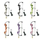 Kids Youth Starter First Compound Bow Arrows Archer Practice Archery Hunting