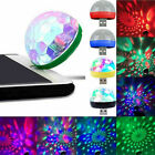 USB+Android LED Disco Stage Light Home Party Voice Control Crystal Magic Lamps