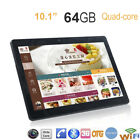 Dual SIM 10.1'' Game Tablet PC Android 6.0 Octa Core 4+64GB HD Wifi 3G Phablet