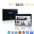 Dual SIM 10.1'' Game Tablet PC Android 6.0 Octa Core 4 64GB HD Wifi 4G Phablet