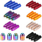 4pcs Car Truck Valve Stems Caps Cover Dust Bullet Design Decor Tire Wheel Air $6.49 USD on eBay