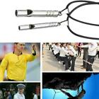 Titanium Emergency Whistle Loud Portable Keychain Necklace Whistle Edc Keyr A9i0