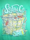 "SOUTHERN FRIED COTTON MEN'S T SHIRT "" CRABS IN BUCKET"" NWT"