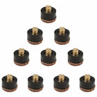 10 PCK Replacement Billiard Pool Cue Stick Screw-On Tips Available in 12mm/13mm $4.99 USD on eBay