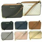 Michael Kors Jet Set Item Large East West Crossbody Chain Handbag Clutch $298 image