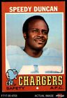 1971 Topps #148 Speedy Duncan Chargers Jackson St 6 - EX/MT $1.8 USD on eBay