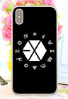 Exo Kpop Boy Band Postcard Poster Cards Hard Cover Case For iPhone Huawei 1 New